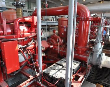 Packed Fire Pump