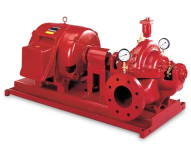Aurora packaged fire pump