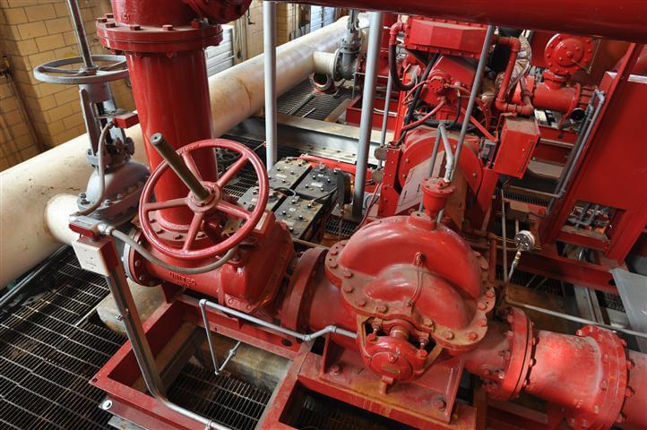 Largest Fire Pump System