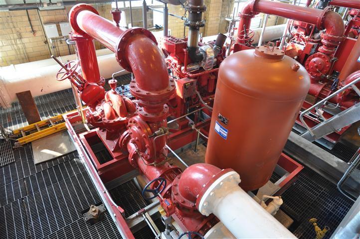 Water Fire Pumps