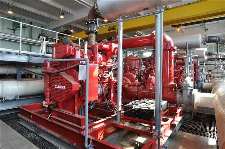 View of Fire Pumps - JFK Airport