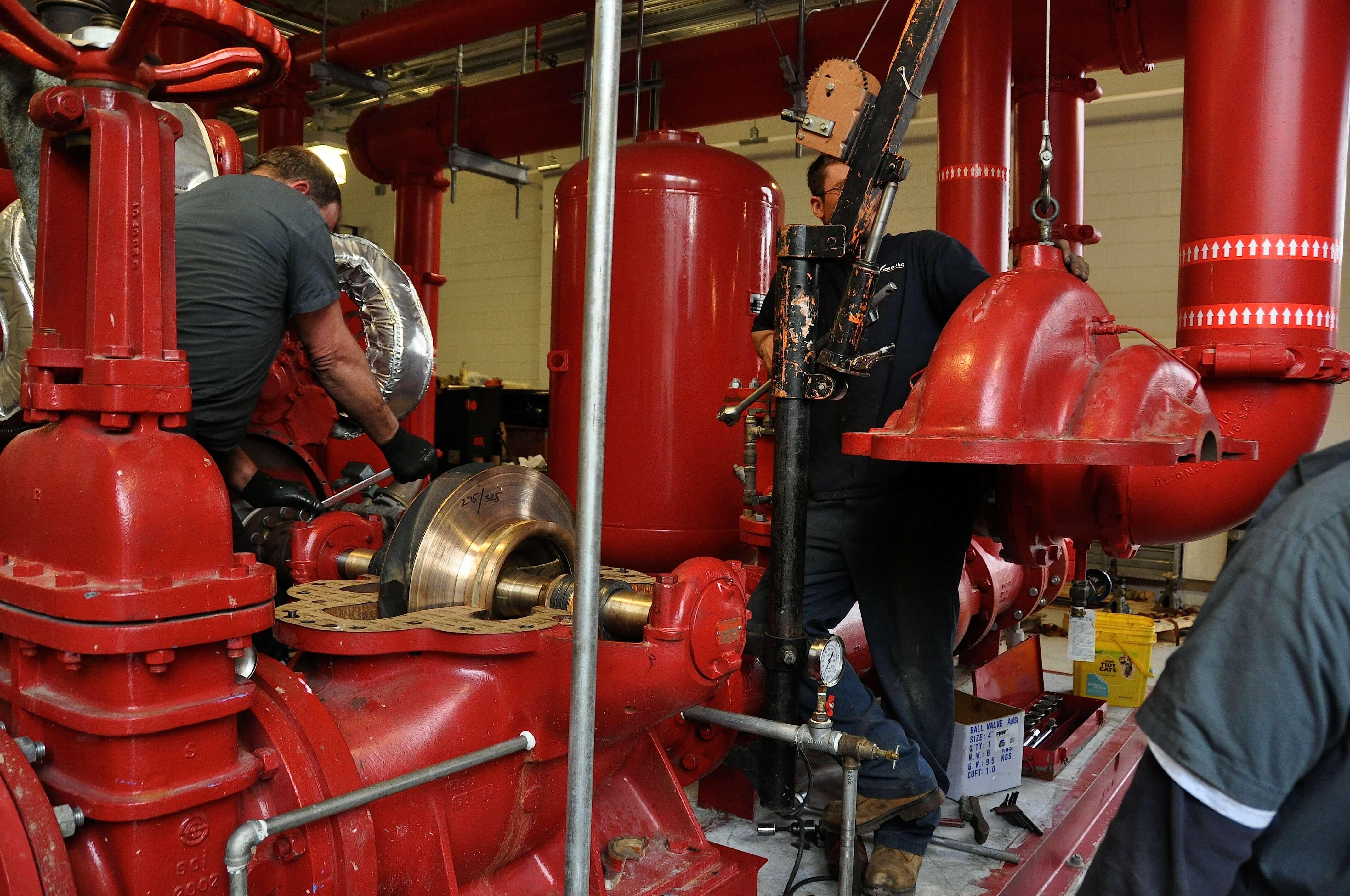 Aurora Fire Booster Pumps