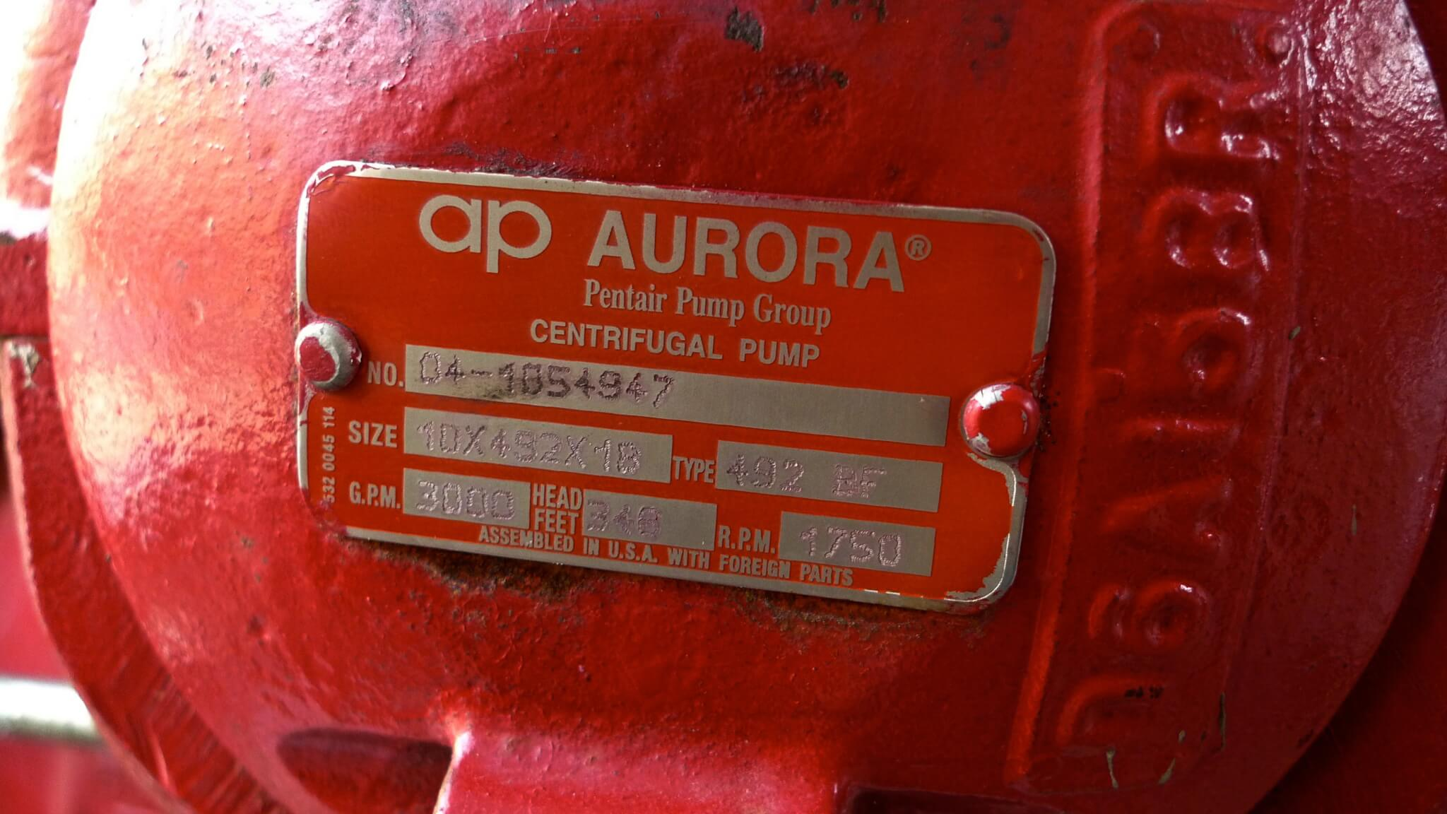 Aurora Fire Pumps