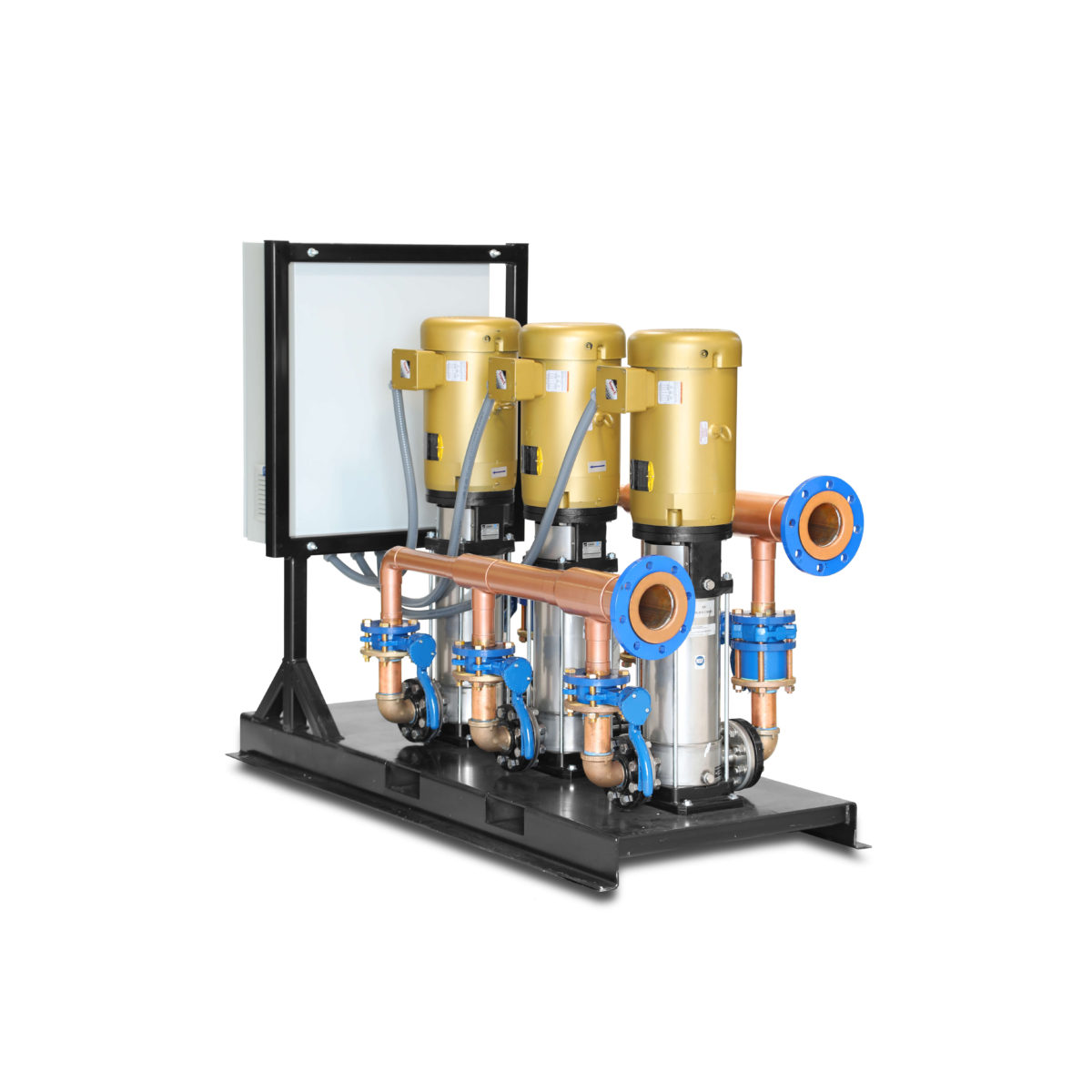 Water Pressure Booster System: Standard Options with Yaskawa iQ1000