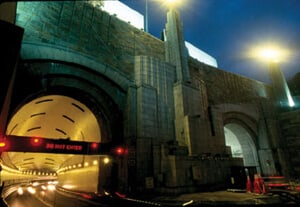 View of Lincoln Tunnel