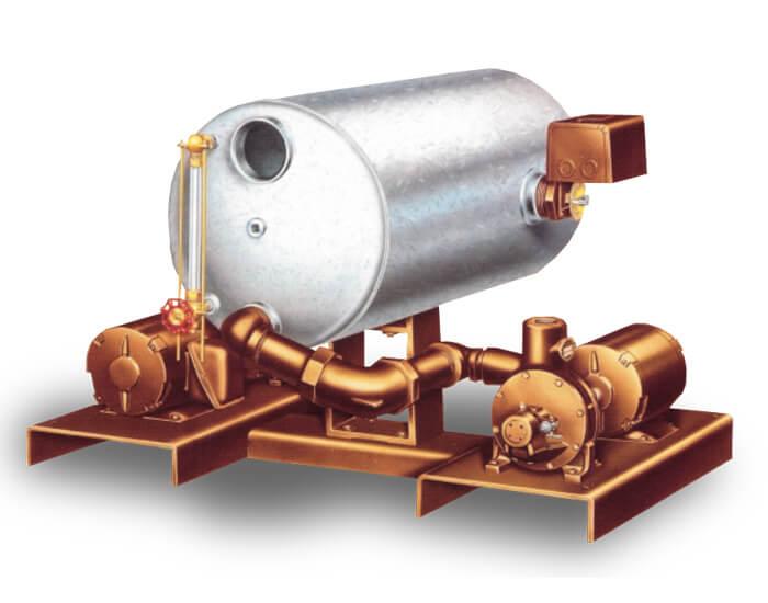 Aurora Series 210 Simplex and Duplex Condensate System