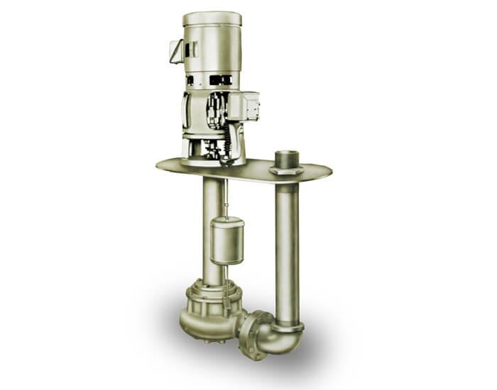 Aurora Series 670 - One Stage Sewage Pumps