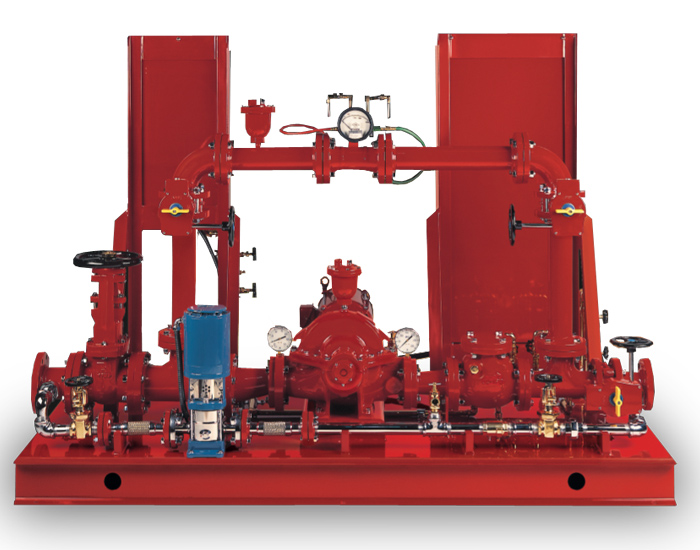 Series 918 Packed Fire Pump