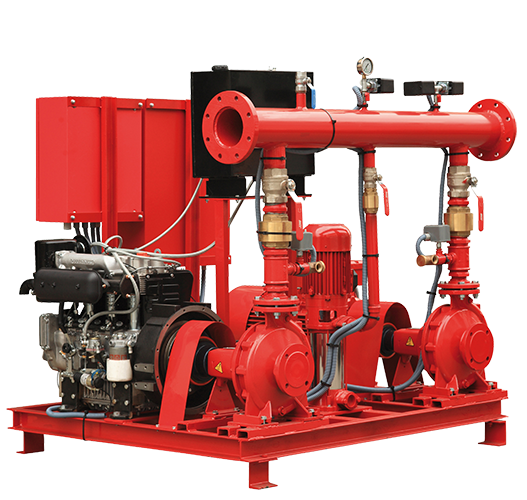 Fire Booster Pump System