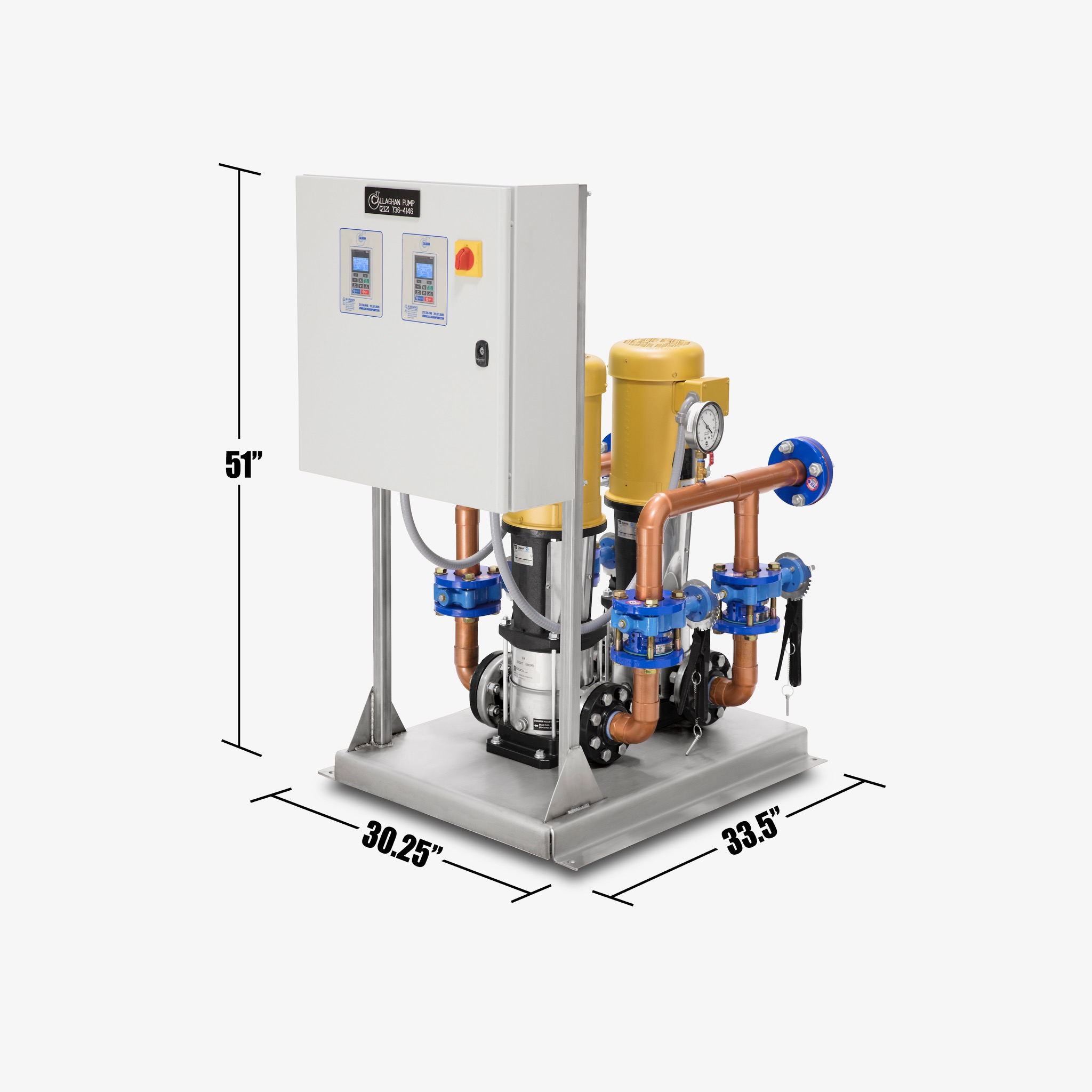 Domestic Water Booster System
