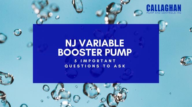 NJ Variable Booster Pump